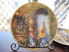 Ceramic Decoration Plate French Country Life 20.5cm B