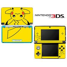 Vinyl Skin Decal Cover for Nintendo 3DS - Pokemon Pikachu