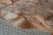 "Mohair Doll Hair color almond 8-11"" in 0.35 oz locks angora DIY baby reborn"