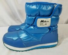 Mumutu Snow Boots blue winter Boots fashion health warmth size 37~6