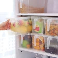 Refrigerator Storage Box Grains Beans Sealed Organizer Container Transparent