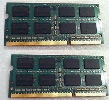 Macbook Pro 13 inch A1278 2012 RAM Memory DDR3 PC3 8 GB 2X4GBSticks= 8GB Used