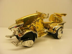 Vintage Voltron transformer moto gold vehicle moto STEALTH CYCLE wep 1999