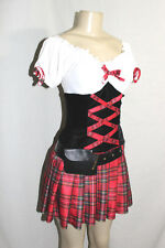Sexy Dreamgirl naughty school girl halloween dress costume cosplay fetish M