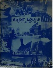 Saint Louis Views 1935 Artistic & Unusual Pictures / Places of Interest