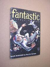 FANTASTIC SCIENCE FICTION. FEB 1956. VOL 5 No.1. PULP MAGAZINE