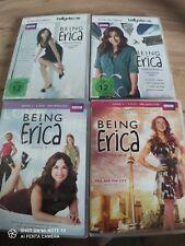 Dvd Being Erica alkes auf Anfang Staffel 1+2+3+4 top Zustand
