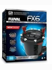 FLUVAL FX6 Aquarium Filter with COMPLETE MEDIA FREE FAST SHIPPING