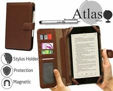 Navitech Brown Book Case For Medion Lifetab E7310 7 inch  NEW