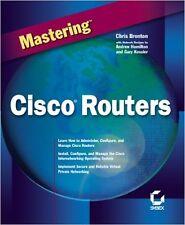 Mastering Cisco Routers Paperback Chris Brenton Andrew Hamilton Gary C. Kessler