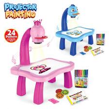 Kinder  Plastic Zeichenbrett Projektor Malerei Bildungswerkzeug Gifts DE