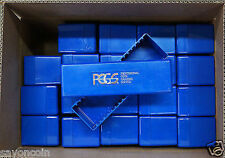 20 PCGS  nice BLUE BOXES--NO COINS  NO TAPE or LABELS ITEM # 65