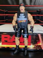 WWE Brock Lesnar Series 37 Elite action figure with shirt and hat Mattel