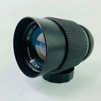 Focal 135mm f/2.8 Telephoto Film Camera Lens for Minolta