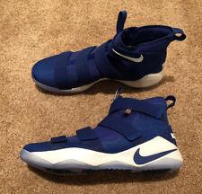 NEW Sz 17 Men's Nike LeBron Soldier XI 11 TB Basketball Shoe Blue 943155-404