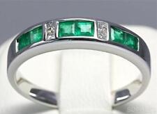 Emerald White Gold 14k Wedding & Anniversary Bands