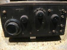 Crosley  model 51 DC tube radio
