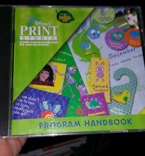 Disney Print Studio PC GAME - FREE POST