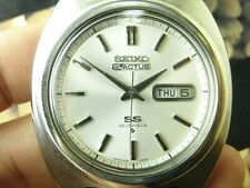 VINTAGE JAPAN 40MM SEIKO SS 5 ACTUS 25J 6106-7440 AUTOMATIC MENS WATCH