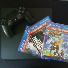 Ps4 slim 1Tb + joystick + 3 giochi