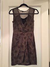 Line & Lotte Leopard Print Dress - XS