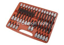 32pc 1/2 inch Drive Star Torx Socket Bit Set T20 - T70