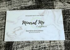 Mineral Me California Shower Bombs, New