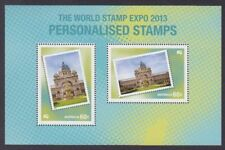 2013 World Stamp Expo Personalised Stamps Mini Sheet Only From Year Book MNH
