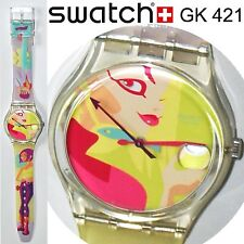 swatch gent vintage oops my nails gk421orologio donna da collezione very rare