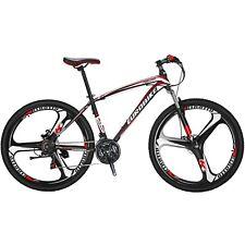 """27.5"""" mountain Bike Shimano 21 Speed Mens Bicycle Daul Disc Brakes MTB L"""