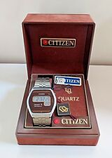 Vintage*NOS*Citizen CQ Crystron LC 40-3059 Quartz Collectible Watch in Box RARE!