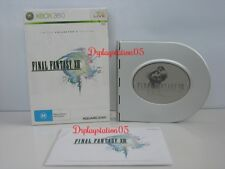 Final Fantasy XIII LIMITED COLLECTOR S EDITION XBOX 360 Brand New and sealed  AU