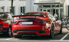 Mans Style Carbon Fiber Rear GT Spoiler Wing For Maserati Gran Turismo Fit 4.2GT
