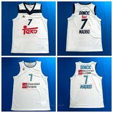 Luka Doncic #7 Teka Basketball Jersey Euroleague 100% Stitched White S-2XL
