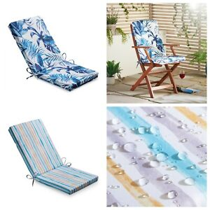 Summer Design Water Resistant Outdoor High Top Chair Pad Seat Cushion 42 x 95cm