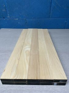 Planned Ash Timber Offcuts Hardwood - Inlay - 10 pieces @ 48 X 18 X 500 mm Long