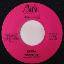 TIERRA: Together / Zoot Suit Boogie 45 Soul