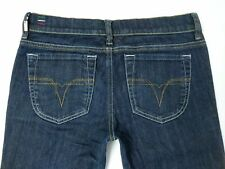 Womens Diesel LIV 0086C Womens Stretch Slim Straight Jeans W30 L31 Size 10 Italy