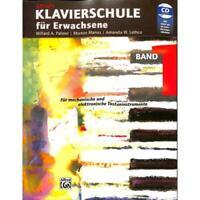 Alfred's Klavierschule für Erwachsene Band 1 - Noten für Klavier (+CD) 6268