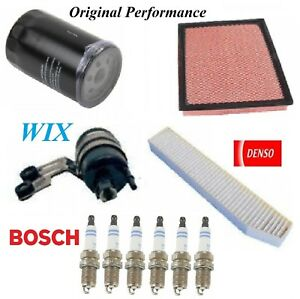 Tune Up Kit Filters Spark Plug For JEEP GRAND CHEROKEE L6;4.0L;EXC Overland 2004