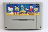 Sanrio Smash Ball SFC Nintendo Super Famicom SNES Japan Import US Seller I6162