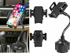Adjustable 360° Universal Car Mount Holder Gooseneck Cup Cradle for Cell Phone