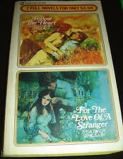 Follow The Heart & For The Love Of A Stranger By Heather Sinclair Nov 1978