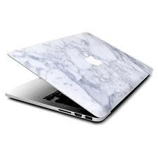 "Skin Decals Wrap for MacBook Pro Retina 13"" - Grey White Standard Marble"
