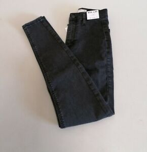 Topshop joni super high waisted skinny jeans size UK8 {B73}