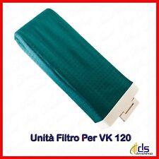 Unità filtro porta sacchetto folletto per vk 120 ricambi compatibili vorwerk