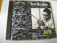 DIZZY GILLESPIE SAME CD CURCIO VERY RARE  ONLY ITALY