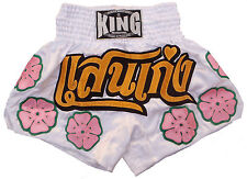 Shorts Thai Boxing Muay Thai King Satin Girl Woman all Sizes