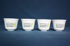 San Francisco International Tea Festival Set of 4 Small Delicate Cups