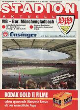 BL 92/93 VfB Stuttgart - Borussia Mönchengladbach